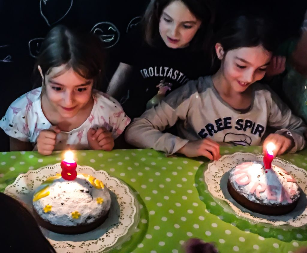 Fête d'anniversaire à Barcelone