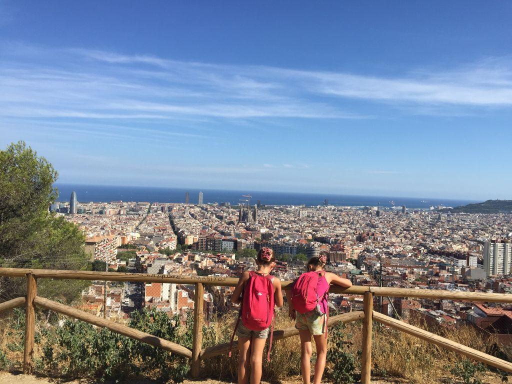Barcelone vue d'en haut - Famille Barcelone