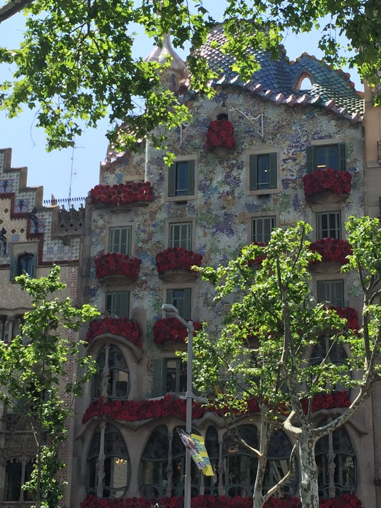 Sant Jordi à Barcelone