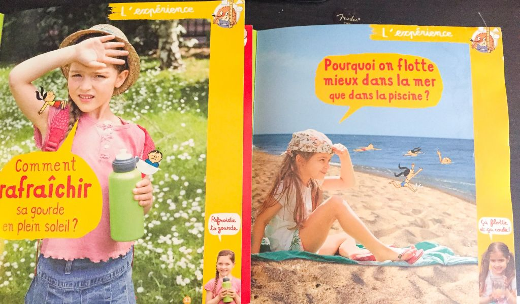 Séance photos pour Kids Magazine