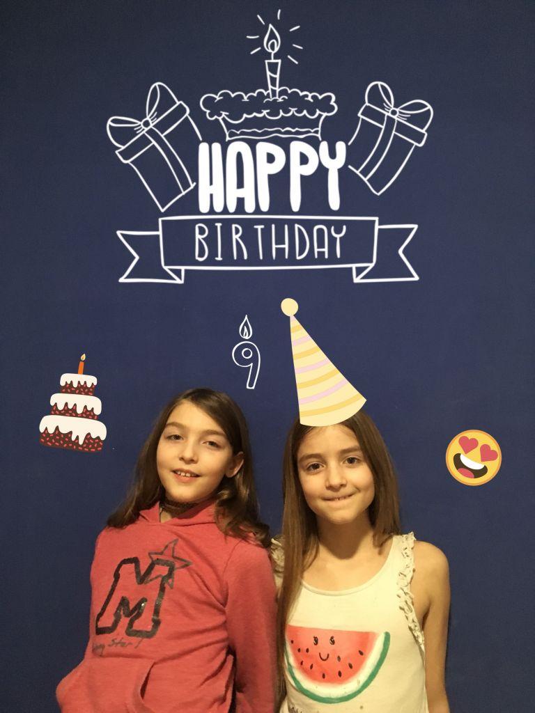 Bientôt 9 ans : anniversaire de mes princesses