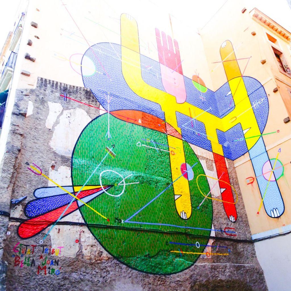 Découverte en famille du street art à Barcelone