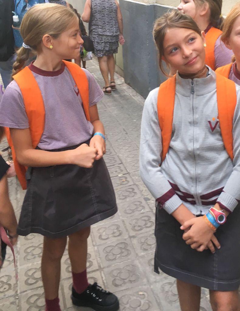 Troisième rentrée à l'école catalane !