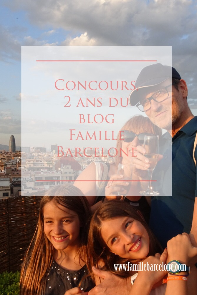 Concours, 2 ans du blog Famille Barcelone