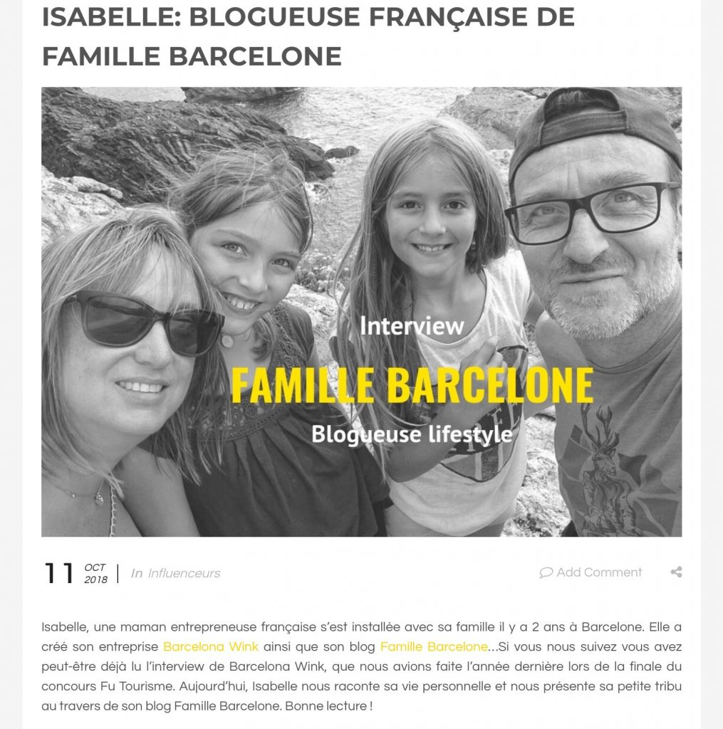 Envie de travailler avec Famille Barcelone ? Collaboration et partenariat