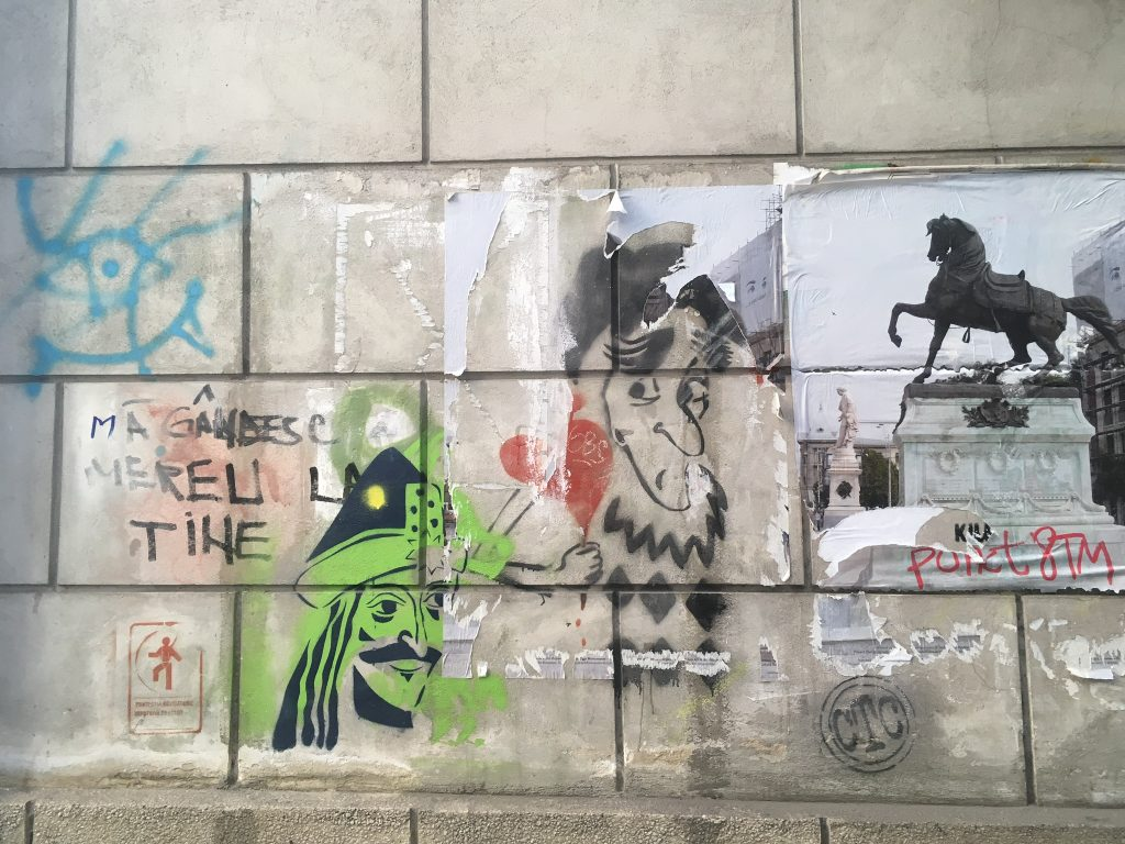 Le meilleur du street art à Bucarest- Graffiti