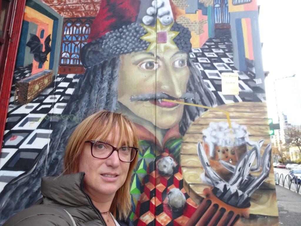Le meilleur du street art à Bucarest Dracula