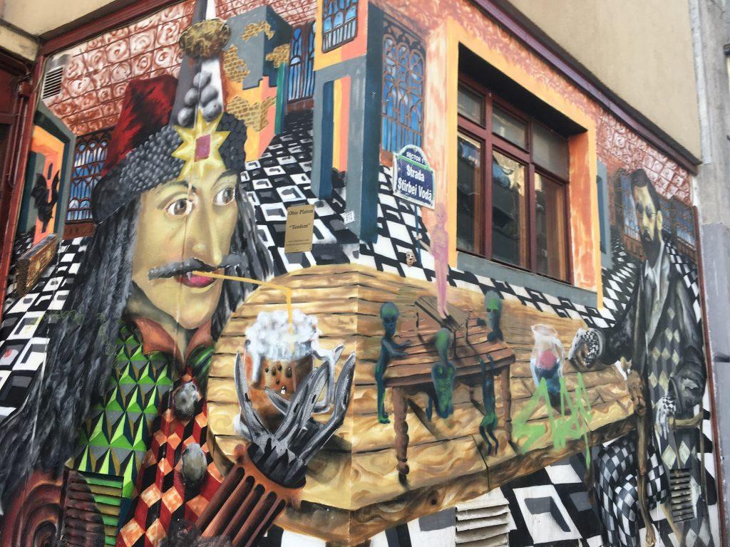 Le meilleur du Street art à Bucarest
