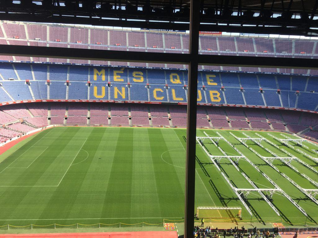 Camp Nou en famille : Le Barça en VF