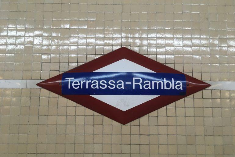 Station Terrassa -Rambla