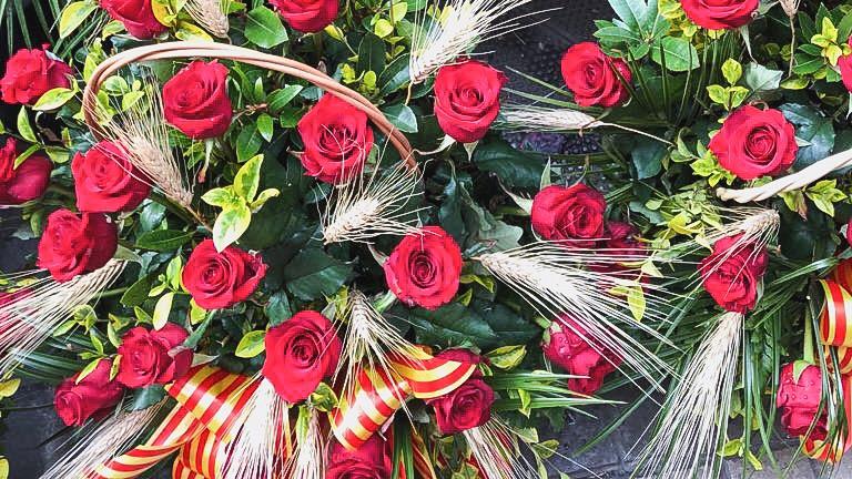 Sant Jordi , la Saint Valentin à la catalane.