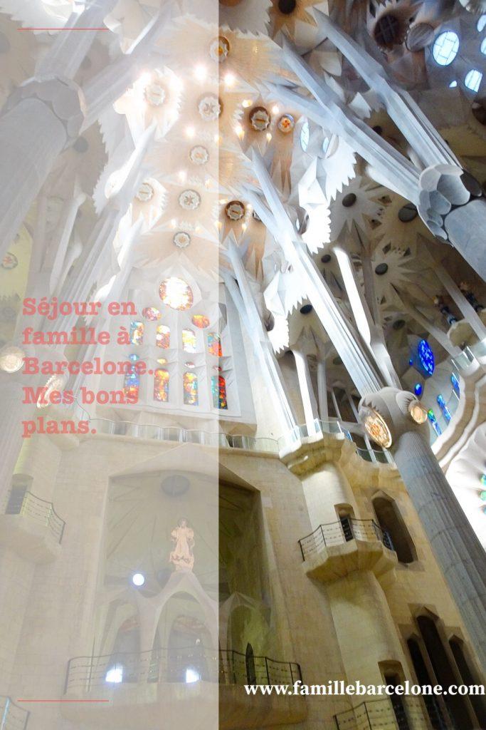 Séjour en famille à Barcelone : mes bons plans.