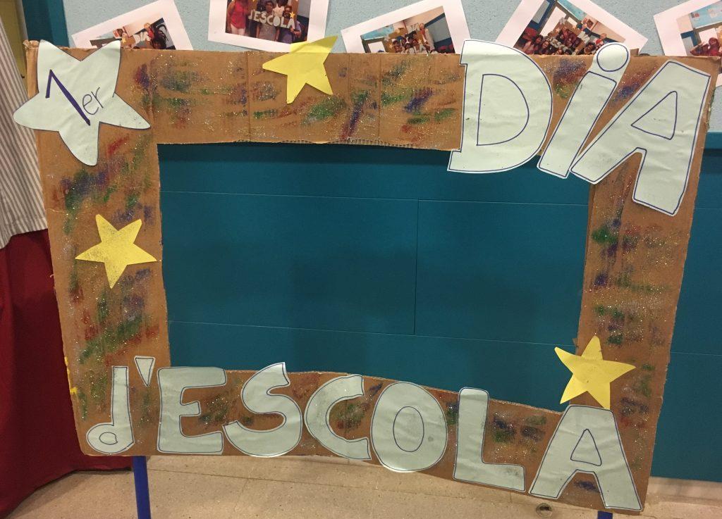 École catalane- Primer dia d'escola