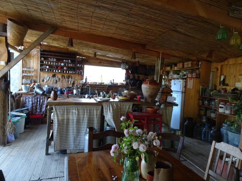 La cuisine de La Mandorla
