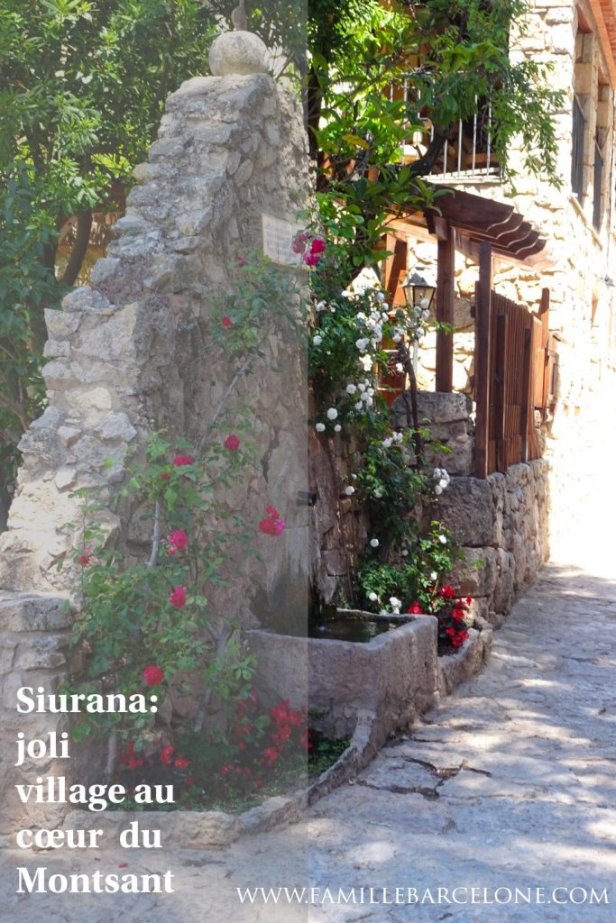 Siurana: joli village au cœur du Montsant