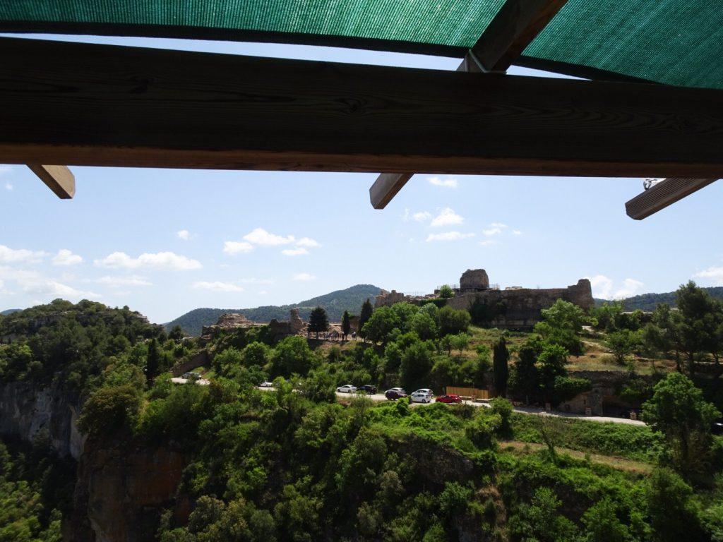 Vue sur l'ancienne forteresse de Siurana