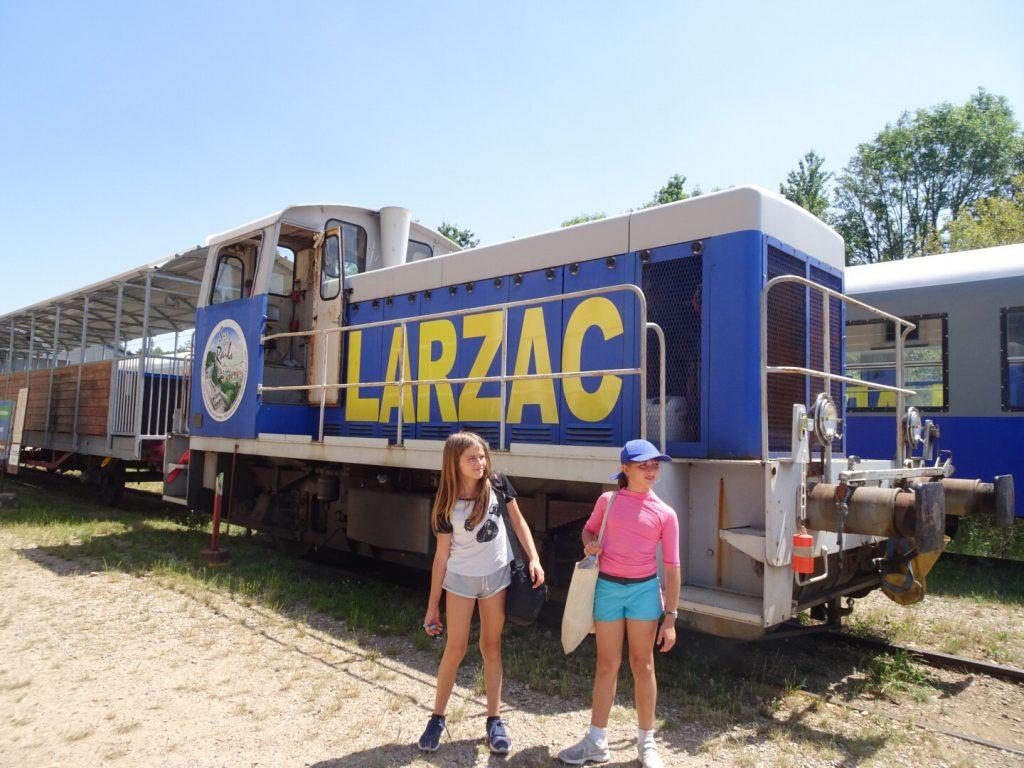 Vélo rail du Larzac Vacances en famille en Aveyron