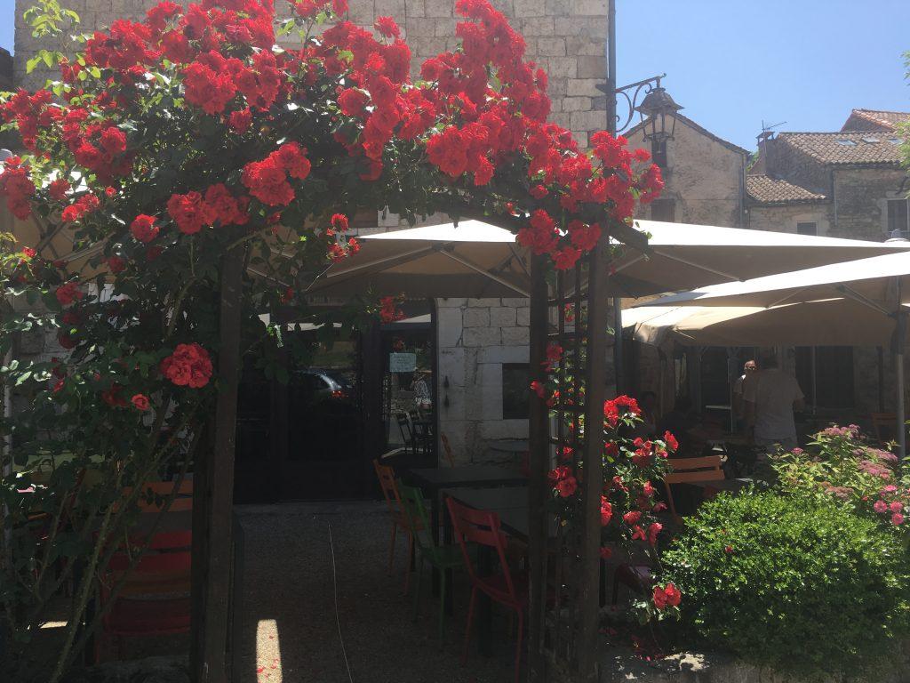 Restaurant La Cardabelle , la terrasse