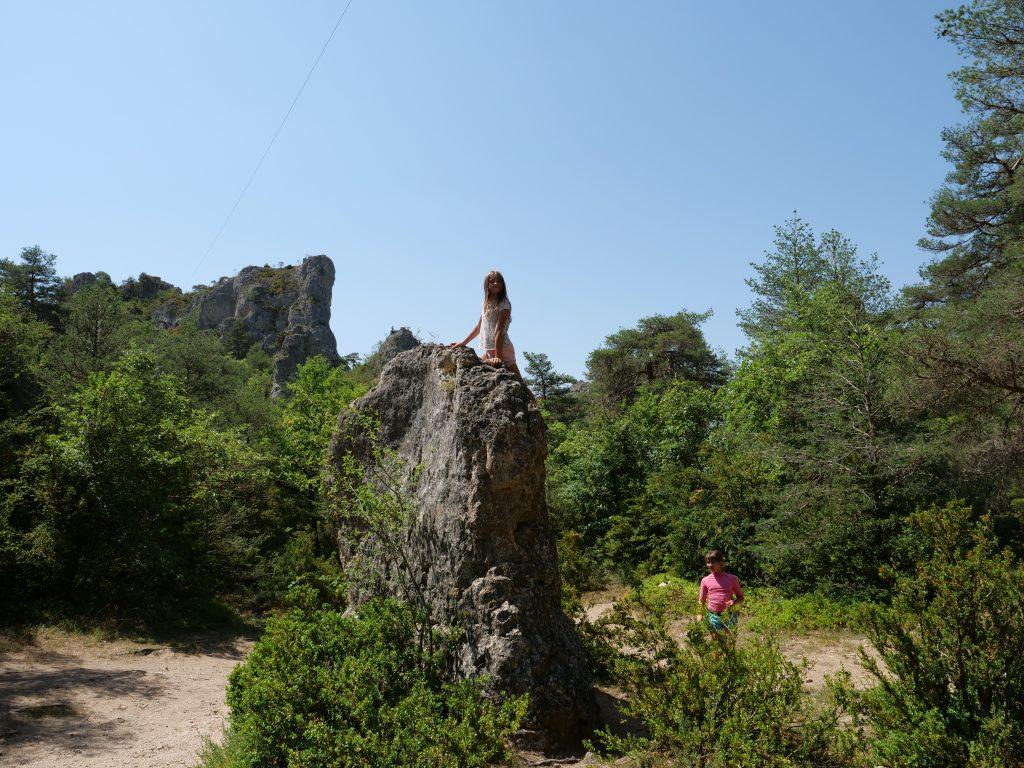 Escalade sur rocher - Cité de Pierres