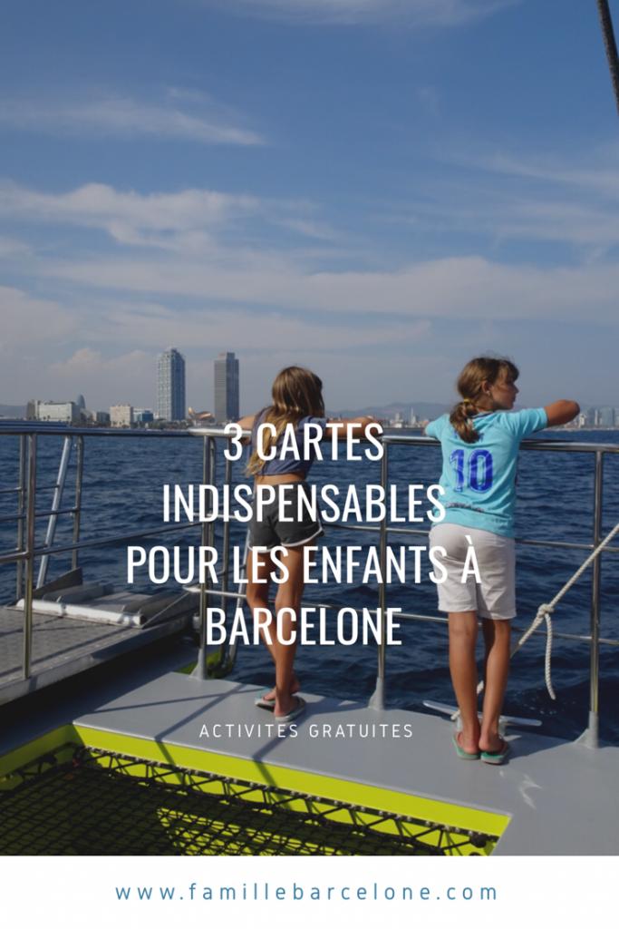 3 cartes indispensables pour les enfants à Barcelone