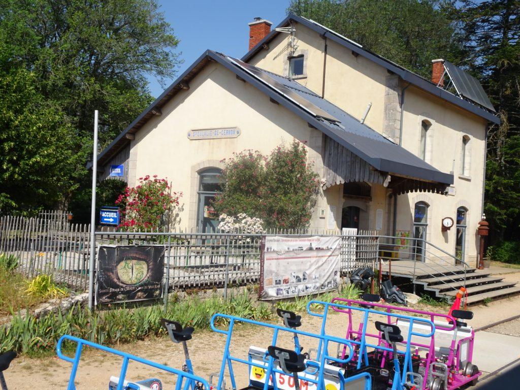 Vélo rail du Larzac-Activité en famille en Aveyron