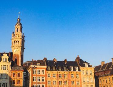 Lille et environs en famille : hébergement et activités. Grand place de Lille
