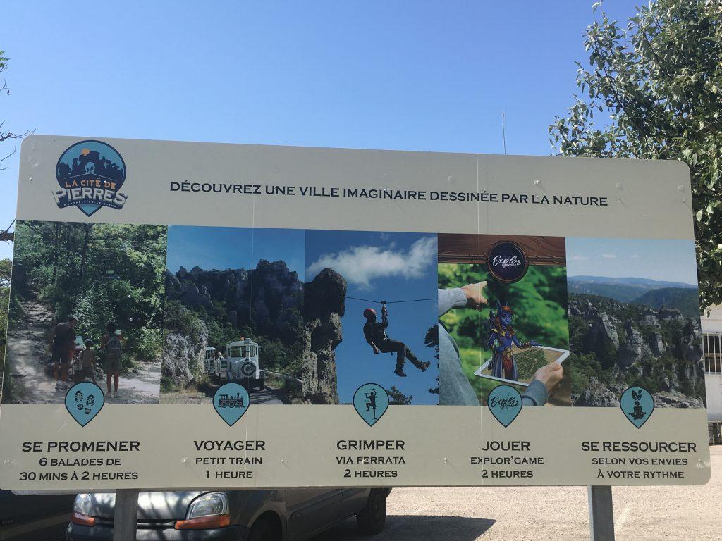 Montpellier le Vieux La Cité de Pierres