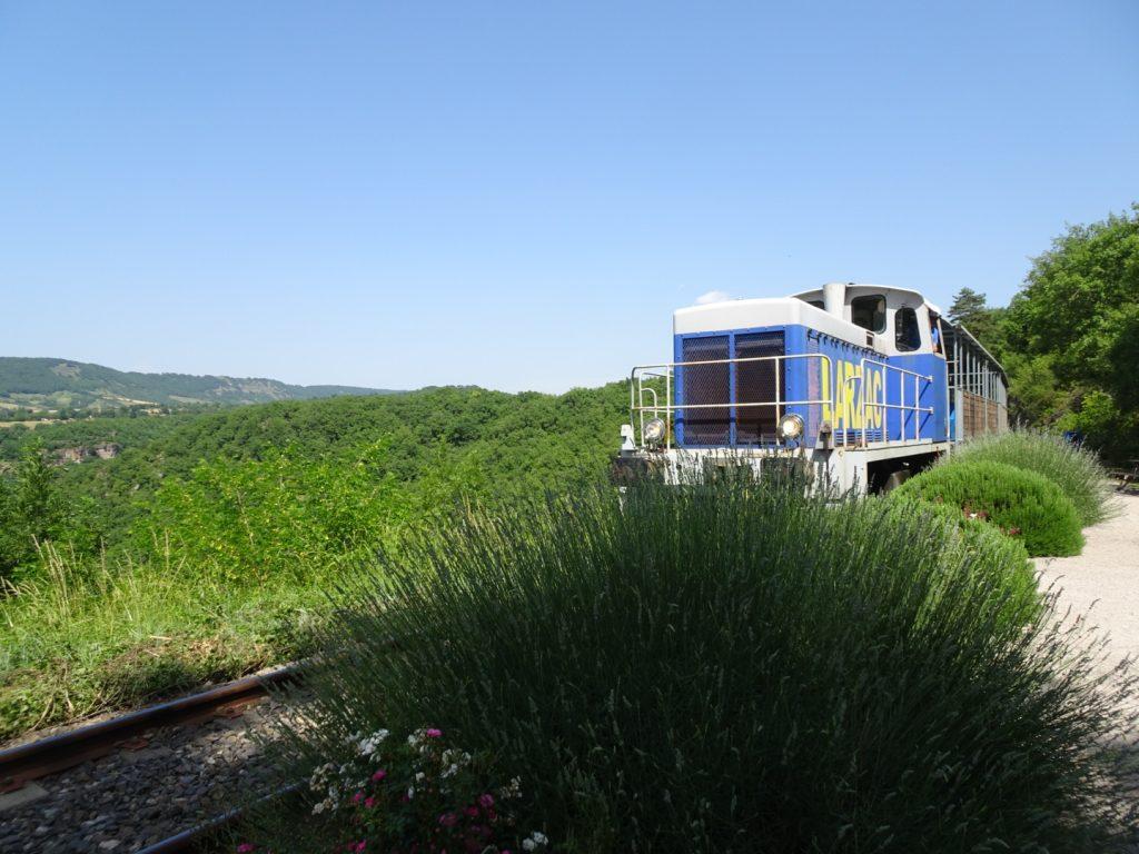 Train du Larzac Aveyron en famille