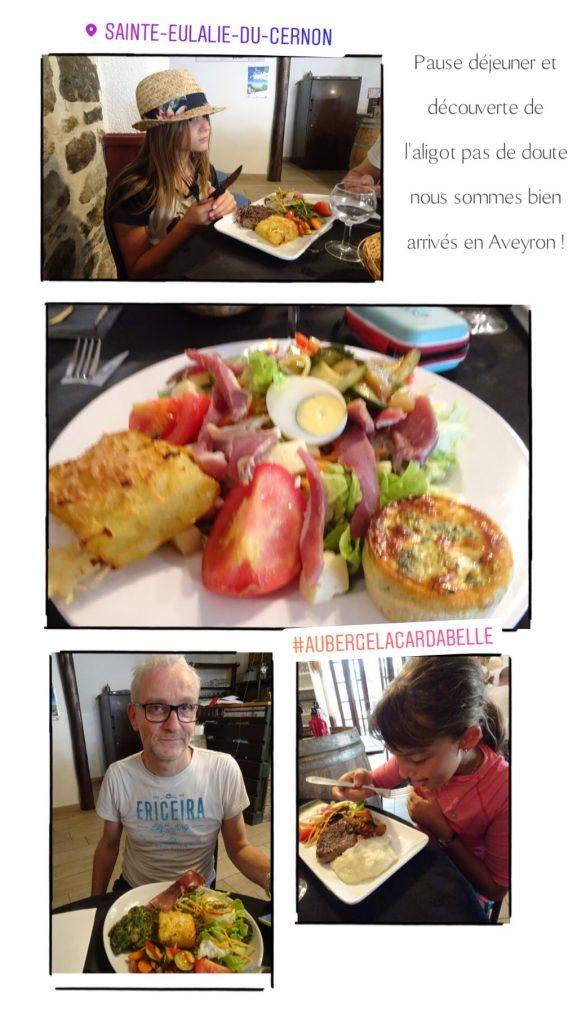 Restaurant La Cardabelle - repas en famille