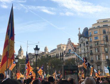 Manifestations indépendantistes Barcelone