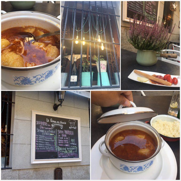 Madrid, ma première fois . City guide Madrid-Restaurant