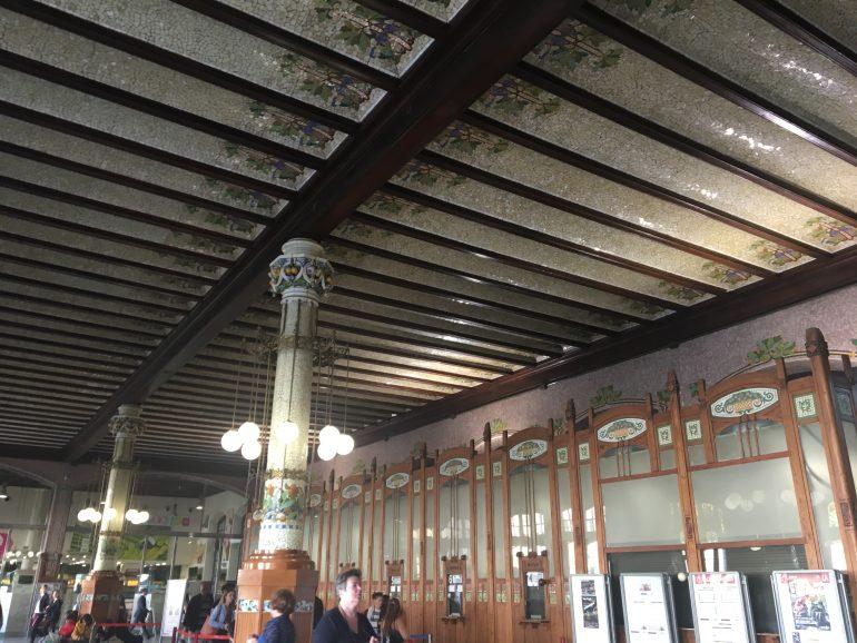 Gare de Valence intérieur