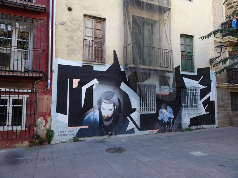 Street art Valence