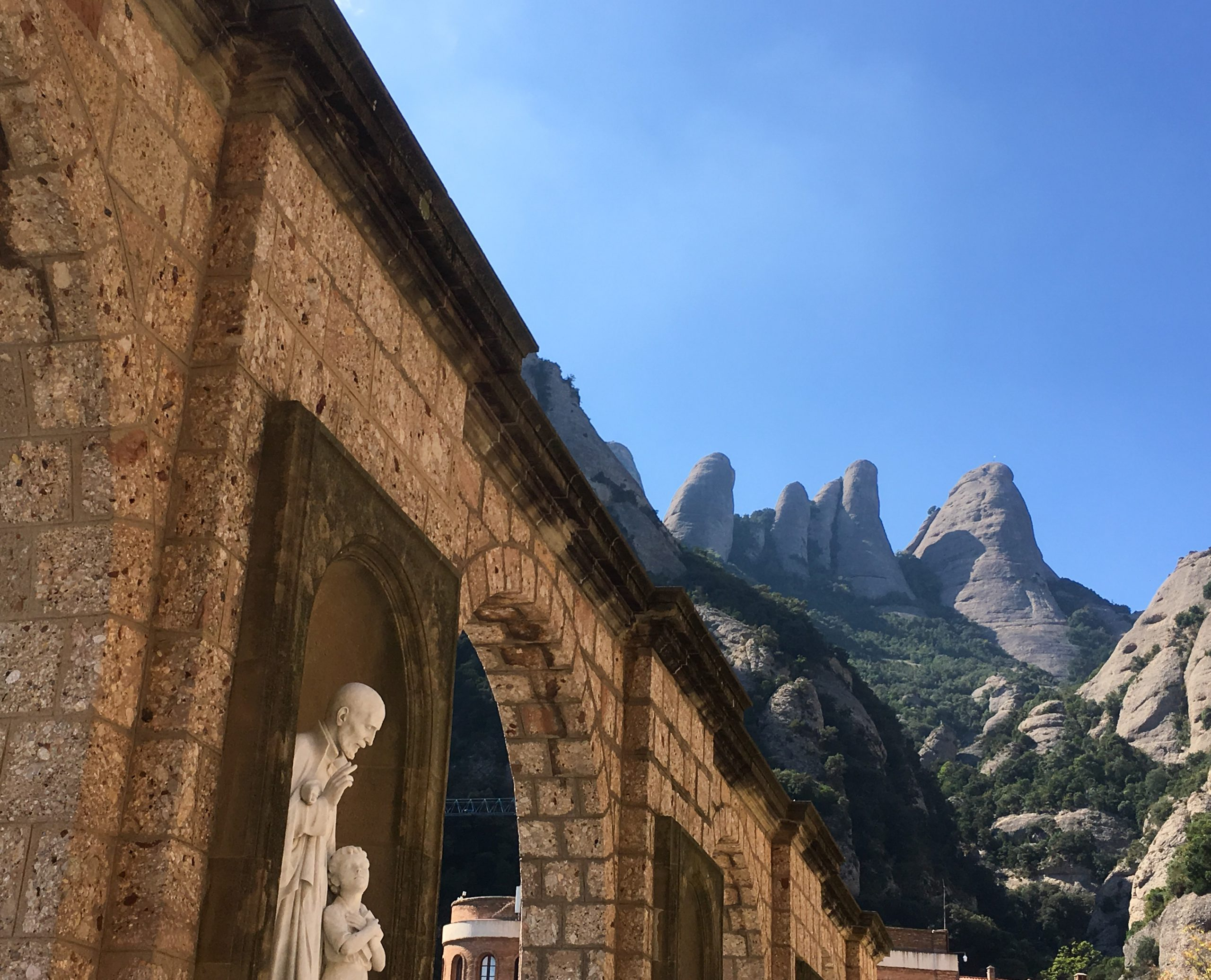 Barcelone 2020 -Excursion à Montserrat