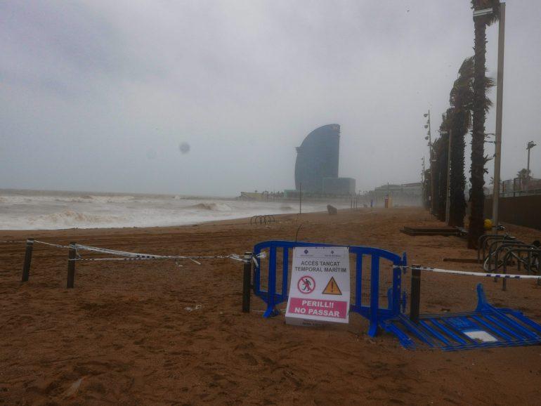 Tempête Gloria : plages