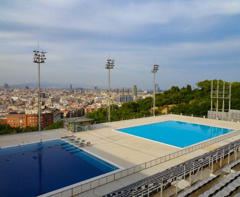 Que faire à Barcelone en 2020 ? Piscine