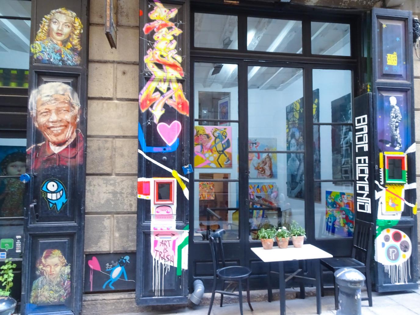Street art - Base élément