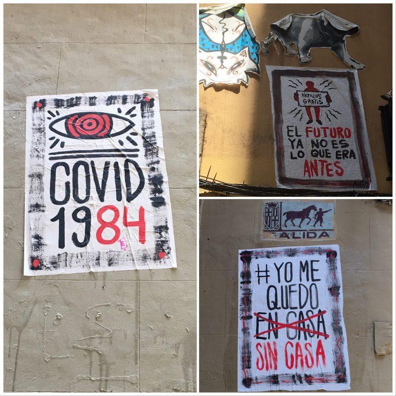 Street art spécial COVID19