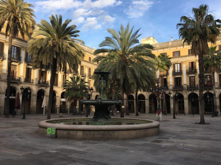 Plaça Réal