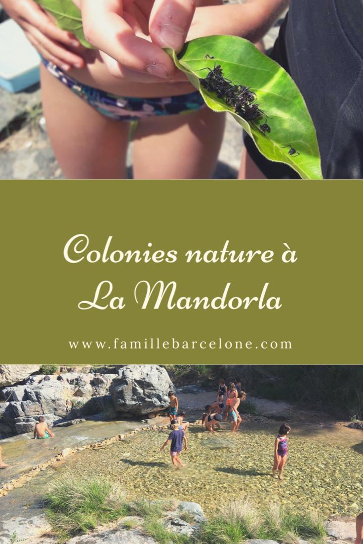 Colonies nature à La Mandorla